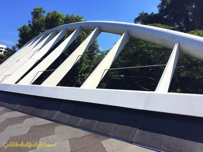 One morning walk at Alexandra Arch Singapore